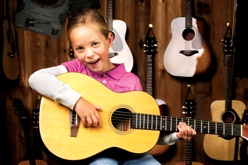kid with guitar